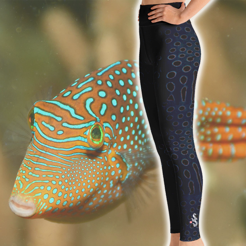 Scuba Diving Leggings by Scuba Sisters