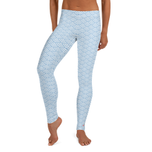 Load image into Gallery viewer, Fish Scale Mermaid Scuba Diving Leggings