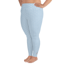 Load image into Gallery viewer, Fish Scale Mermaid Plus Size Leggings