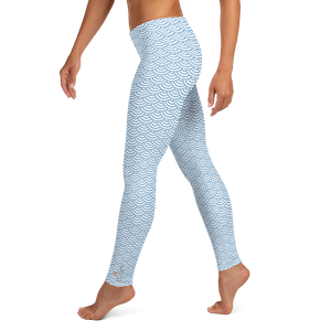 Fish Scale Mermaid Leggings