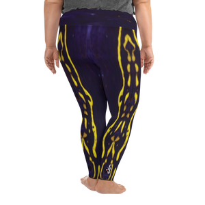 Regal Sea Goddess Plus Size Leggings