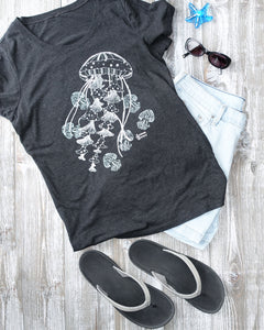 Ghost Jellies Tee and Shorts Outfit