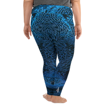 Load image into Gallery viewer, Giant Clam Plus Size Leggings - Scuba Sisters Diving Apparel