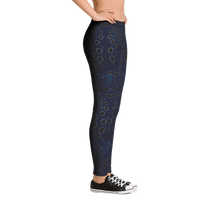 Load image into Gallery viewer, Moonrise Puffer Free Diving Leggings - Inspired by the Sharpnose Pufferfish