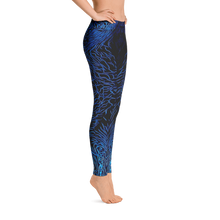 Load image into Gallery viewer, Giant Clam Leggings - Scuba Sisters Diving Apparel