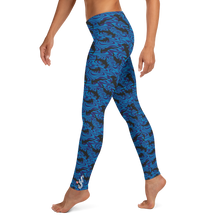 Load image into Gallery viewer, Hammerhead Shark Scuba Leggings by Scuba Sisters