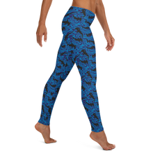 Load image into Gallery viewer, Hammerhead Shark Leggings - Scuba Sisters Diving Apparel