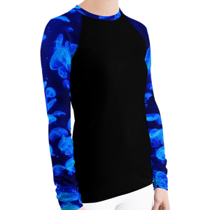 Jellyfish Bloom Women's Rash Guard - Scuba Sisters Diving Apparel