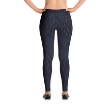 Load image into Gallery viewer, Moonrise Puffer Snorkeling Leggings - Inspired by the Sharpnose Pufferfish