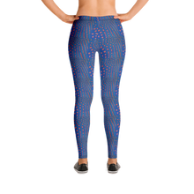 Load image into Gallery viewer, Sunrise Puffer Leggings - Scuba Sisters Diving Apparel
