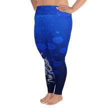 Load image into Gallery viewer, Octopus Hug Plus Size Leggings - Scuba Sisters Diving Apparel
