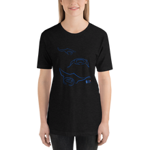 Load image into Gallery viewer, Woman Wearing Manta Triplets Tee