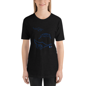 Manta Triplets Tee - Unisex - Scuba Sisters Diving Apparel