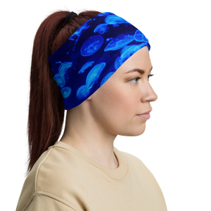 Jellyfish Neck Gaiter and Face Cover by Scuba Sisters