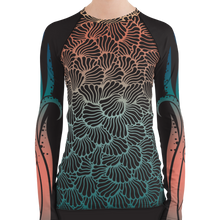 Load image into Gallery viewer, Women's Octopus Scuba Rash Guard by Scuba Sisters