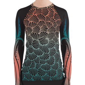 Women's Octopus Scuba Rash Guard by Scuba Sisters