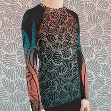 Load image into Gallery viewer, Women's Octopus Scuba Diving Rash Guard by Scuba Sisters