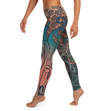 Load image into Gallery viewer, Women's Octopus Scuba Diving Leggings by Scuba Sisters
