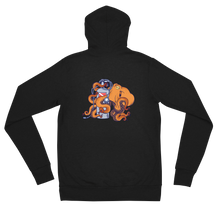 Load image into Gallery viewer, Women's Octopus Scuba Diving Zip Hoodie by Scuba Sisters