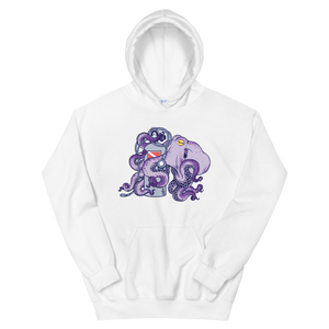 Women's Octopus Scuba Diving Hoodie by Scuba Sisters