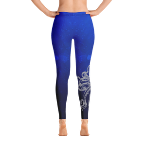 Octopus Hug Leggings - Scuba Sisters Diving Apparel