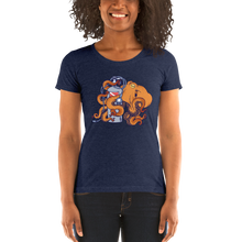 Load image into Gallery viewer, Woman Wearing Octogen Scuba Diving Shirt
