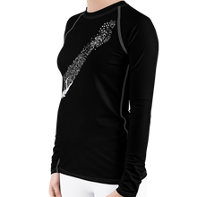 Load image into Gallery viewer, Woman Scuba Diving Rash Guard by Scuba Sisters
