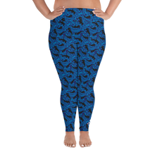 Load image into Gallery viewer, Hammerhead Shark Plus Size Leggings - Scuba Sisters Diving Apparel