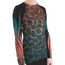 Load image into Gallery viewer, Women's Octopus Rash Guard for Snorkeling by Scuba Sisters