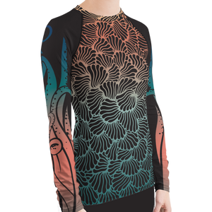 Women's Octopus Rash Guard for Snorkeling by Scuba Sisters