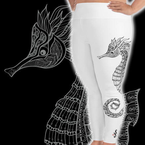 Seahorse Plus Size Scuba Diving Leggings