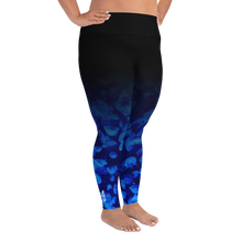 Load image into Gallery viewer, Jellyfish Bloom Plus Size Leggings - Scuba Sisters Diving Apparel