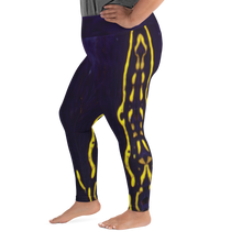 Load image into Gallery viewer, Regal Sea Goddess Plus Size Leggings