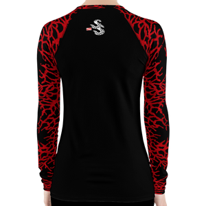 Women's Sea Fan Scuba Diving Rash Guard by Scuba Sisters