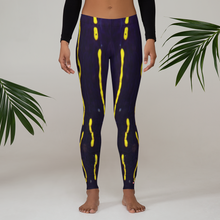 Load image into Gallery viewer, Regal Sea Goddess Leggings - Scuba Sisters Diving Apparel