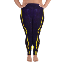 Load image into Gallery viewer, Regal Sea Goddess Plus Size Leggings - Scuba Sisters Diving Apparel