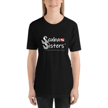 Load image into Gallery viewer, Woman Wearing Scuba Sisters Shirt