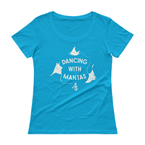 Manta Ray T-Shirt by Scuba Sisters