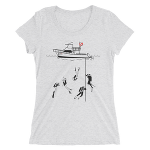 Women Divers Scuba Shirt - White