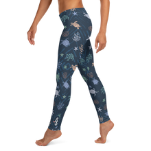 Load image into Gallery viewer, Sea Turtle Leggings by Scuba Sisters