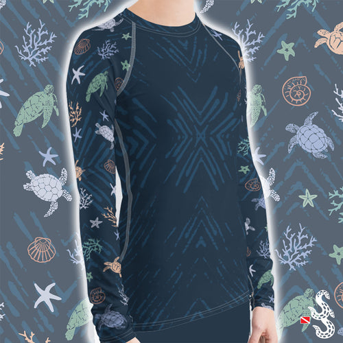 Sea Turtle Rash Guard by Scuba Sisters