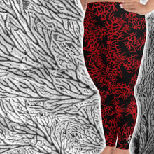 Load image into Gallery viewer, Women's Sea Fan Scuba Diving Leggings by Scuba Sisters