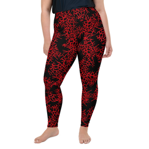 Women's Sea Fan Scuba Diving Leggings by Scuba Sisters