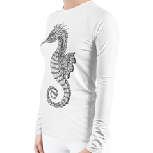 Load image into Gallery viewer, Seahorse Plus Size Scuba Diving Rash Guard