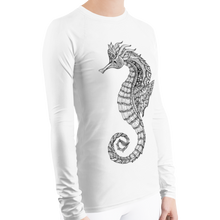 Load image into Gallery viewer, Seahorse Rash Guard