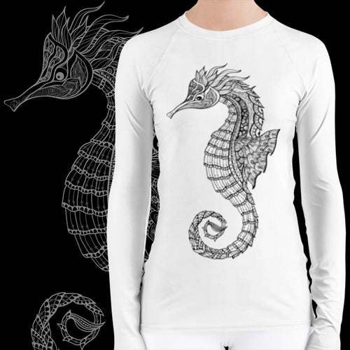 Seahorse Scuba Diving Rash Guard