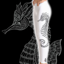 Load image into Gallery viewer, Seahorse Scuba Diving Leggings