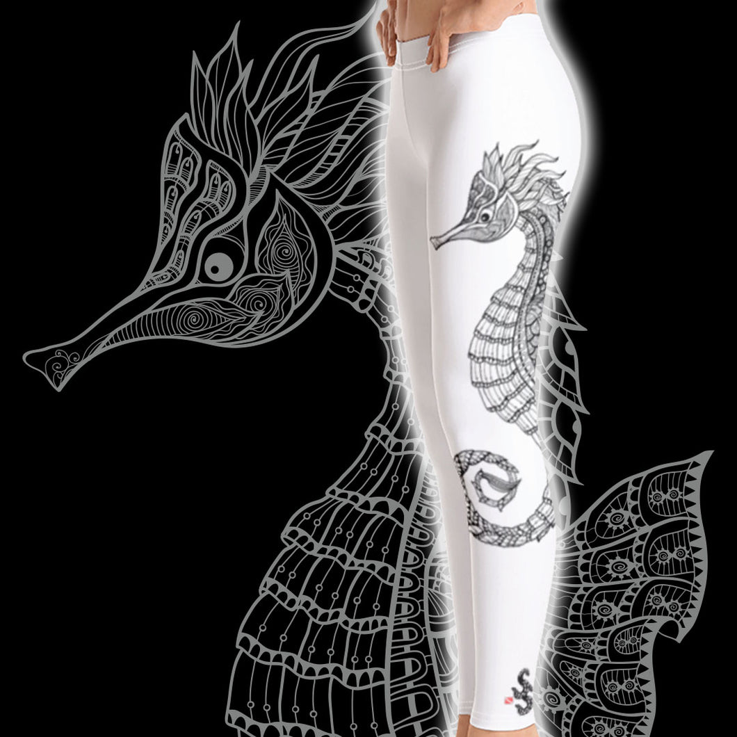 Seahorse Scuba Diving Leggings