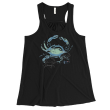Load image into Gallery viewer, Shadow Crab Tank - Flowy Racerback - Scuba Sisters Diving Apparel