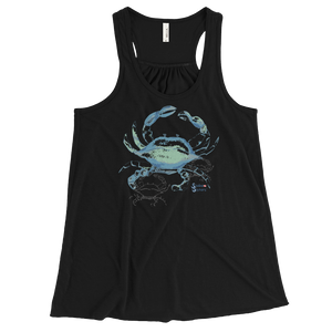 Ladies Jellyfish Tank Top by Scuba Sisters - Black
